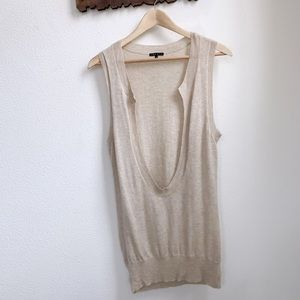 Theory | Cashmere Scoop Neck Tank Top